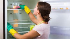 Limpeza da geladeira