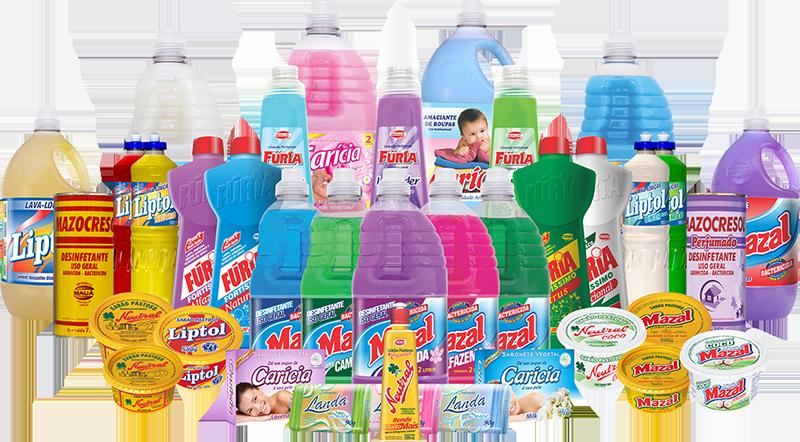 melhores produtos de limpeza e higiene pessoal