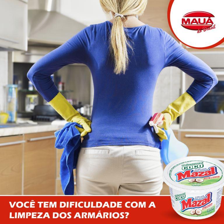 Mazal Coco para limpar armários de cozinha