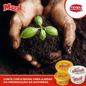 Mauá do Brasil e você juntos, contribuindo para a preservação do meio ambiente.