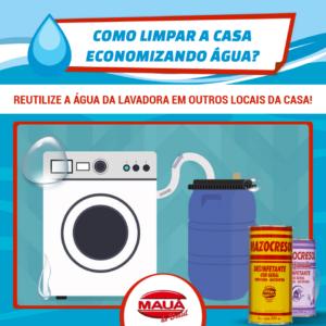 A Mauá do Brasil ajuda no problema de falta de água