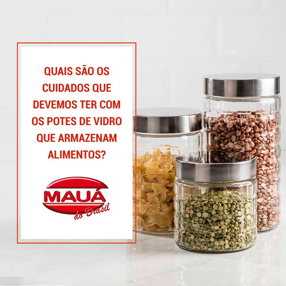 A Mauá do Brasil ajuda você com dicas de como armazenar seu alimento corretamente.