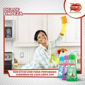 Cheirinho de casa limpa