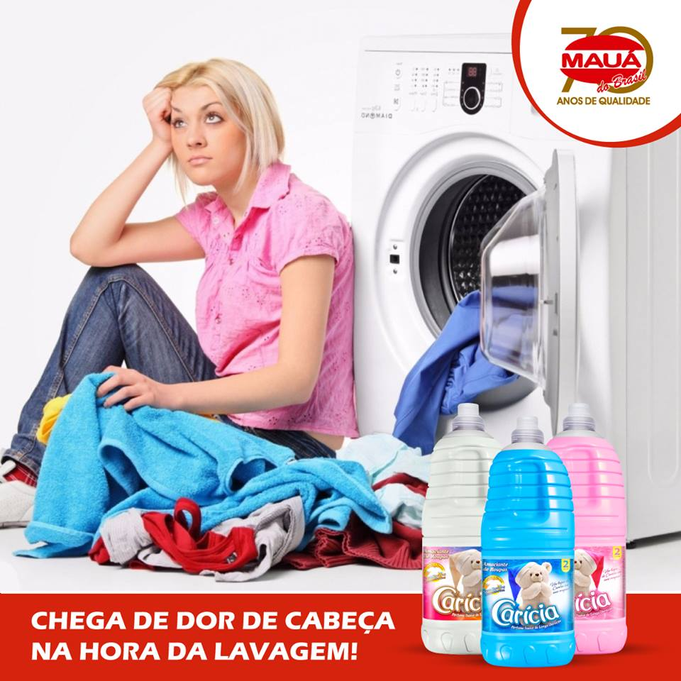 Carícia te ajuda a lavar roupa