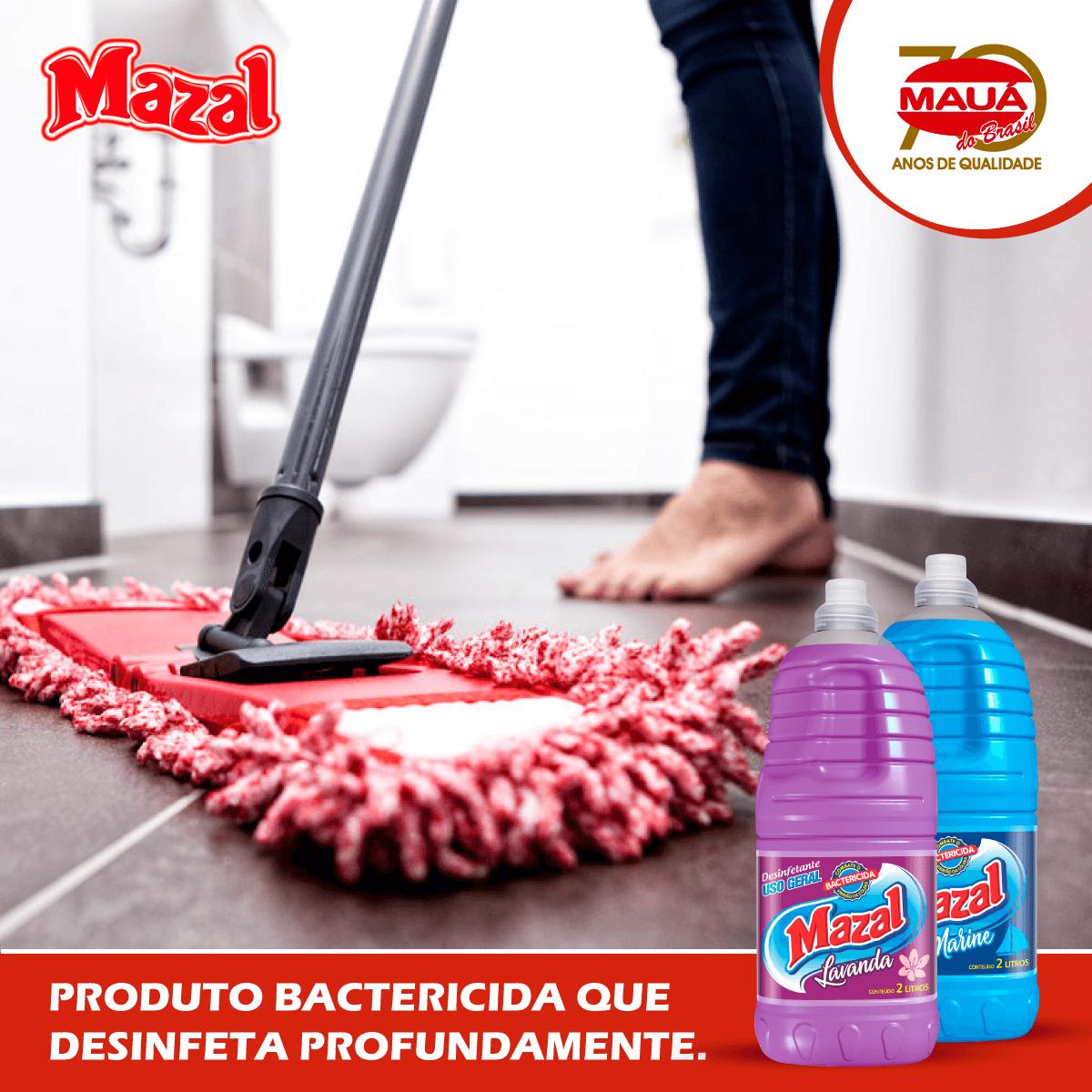 Banheiro limpo com Mazal!