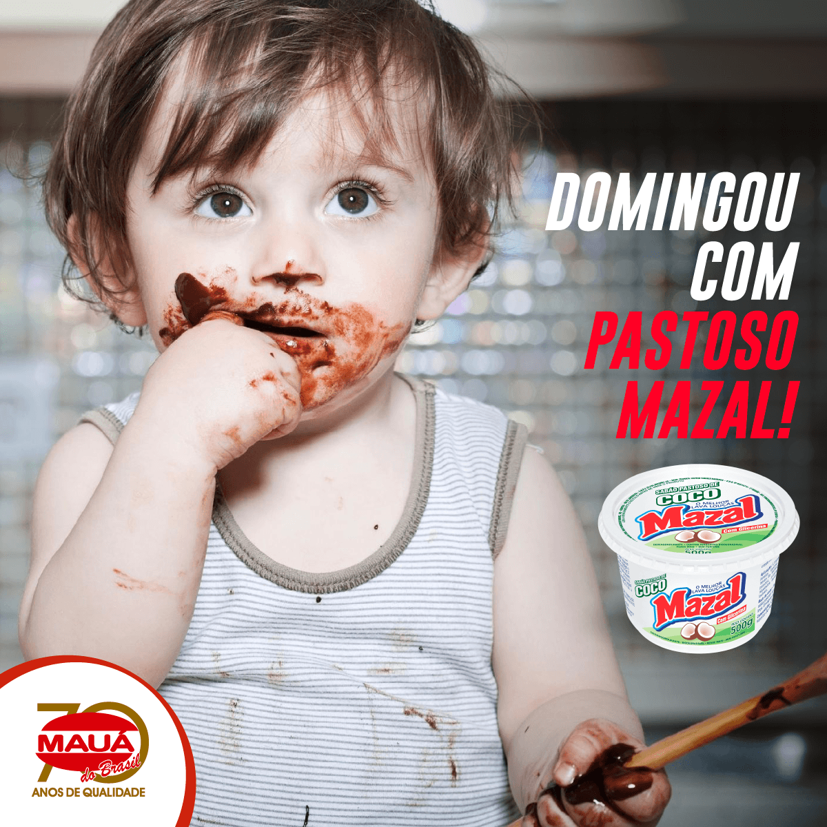 Dia do chocolate com Pastoso de Coco Mazal