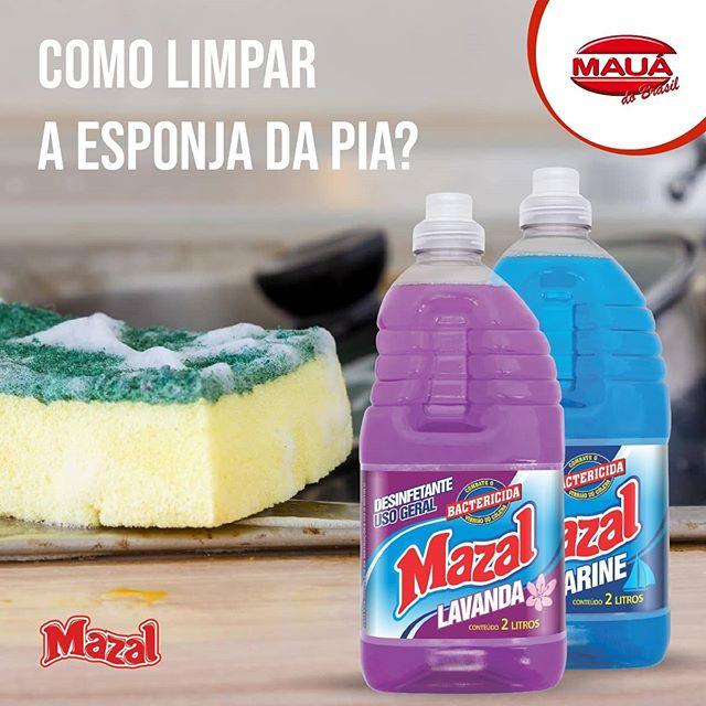 Como limpar a esponja da pia?