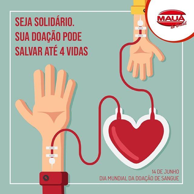Seja solidário. Sua doação pode salvar até 4 vidas.