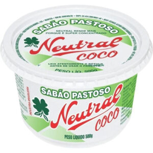 Sabão Pastoso para Lava Louças Neutral Coco Mauá do Brasil – Kit com 6 unid